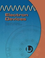 Division Brochure - L-3 Communications