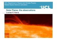 Solar Flares: the observations