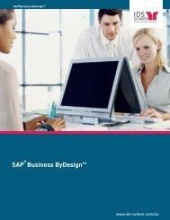 SAP Business ByDesign™ - IDS Scheer AG