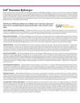 SAP Business ByDesign™ - IDS Scheer AG - Page 2
