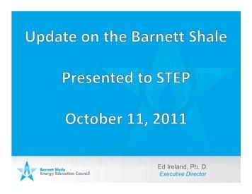 Update on the Barnett Shale