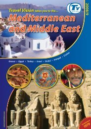 Mediterranean and Middle East 2008/9 - Travel Vision
