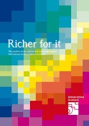 Richer For It US - Universities Scotland