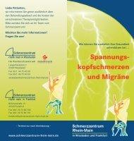 Spannungs- kopfschmerzen und Migräne - Schmerzzentrum Rhein ...