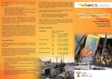 Protecting Health, Safety, The Environment And Ensuring Fair - Nrcs