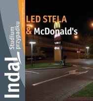 LED STELA & McDonald's - Indal