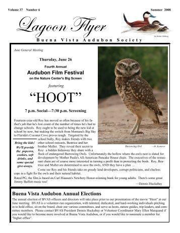 June-Aug 2008 - Buena Vista Audubon Society
