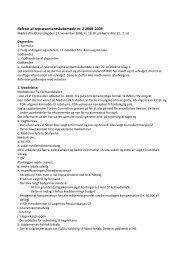 Referat af repræsentantskabsmøde nr. 2 2008-2009 - fadl.dk