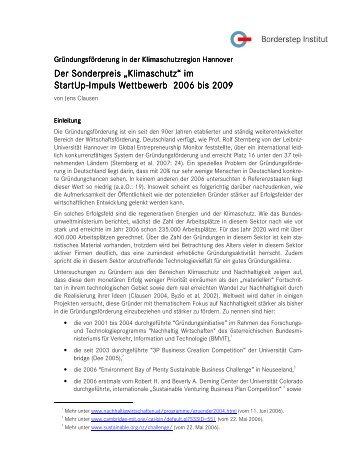 """Der Sonderpreis """"Klim Der Sonderpreis """"Klimaschutz ... - Borderstep"""