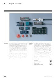118 Magnetic reed switches 5. - Schmersal