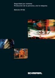 sobre Seguridad: Resumido y actual - Schmersal