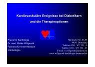 Kardiovaskuläre Ereignisse bei Diabetikern und ... - Ww-kardio-do.de