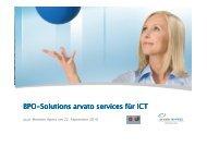 Bpo-Solutions arvato services für ICT Solutions arvato ... - Asut