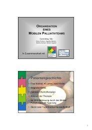 PowerPoint-Präsentation - Koordination Palliativbetreuung Steiermark