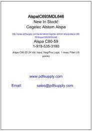 Alspa C80-35 125 Vdc Output, (6 Points) - GE Fanuc PLC