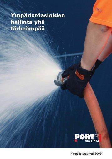 Ympäristöraportti 2009 - Helsingin Satama