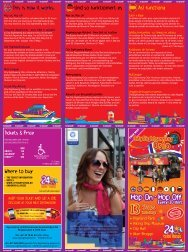 Tickets & Price Where to buy This is how it works ... - City Sightseeing