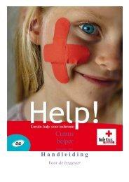 Handleiding voor de lesgever cursus Helper - Rode Kruis-Vlaanderen