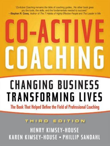 Praise for - Coaches Training Institute