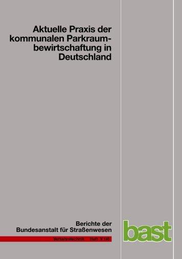 bewirtschaftung in Deutschland - Das elektronische Bast-Archiv