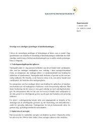Oversigt over yderligere justeringer af aktiebeskatningen. Udover de ...