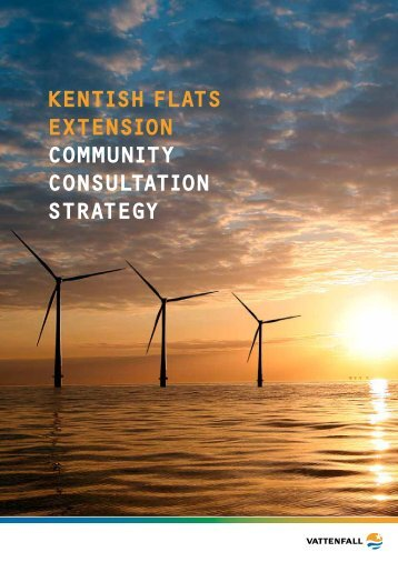 Consultation Strategy Document (PDF 675 kB) - Vattenfall