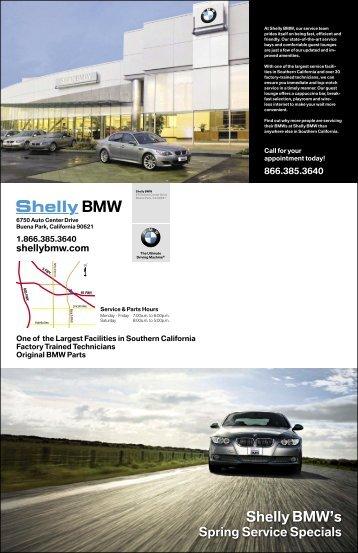 Shelly BMW's
