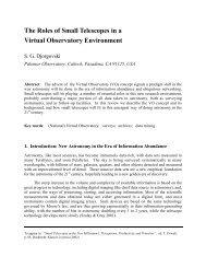 View - Caltech Astronomy