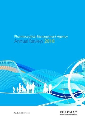 Annual Review 2010 - Pharmac