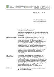 2007-11-09 08/15 Alla nämnder och styrelser Kommunal bolag ...