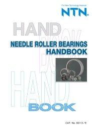 Needle Roller Bearing Handbook - Ntn-snr.com
