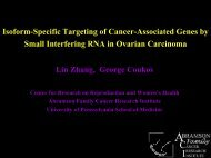 (VEGF) in Epithelial Ovarian Cancer