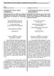 Landesgesetz vom 8. Mai 2013, Nr. 5 - Südtiroler Landtag