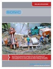 General Drilling - Sonic Drilling Ltd.