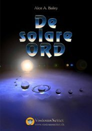 Download-fil: DE SOLARE ORD - Alice A. Bailey - Visdomsnettet