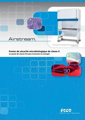 Postes de sécurité microbiologique de classe II - Esco