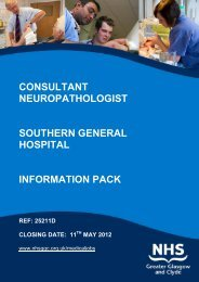 consultant neuropathologist southern general hospital information ...