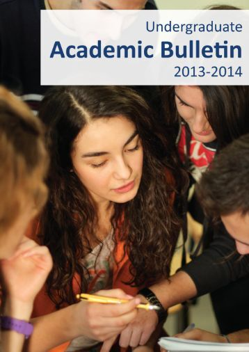 Academic Bulletin 2013-2014 - AUK