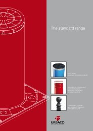 The standard range - Urbaco