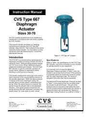Product Manual Actuators, Hydraulic Pumps, Pilots & 3 Way Valves