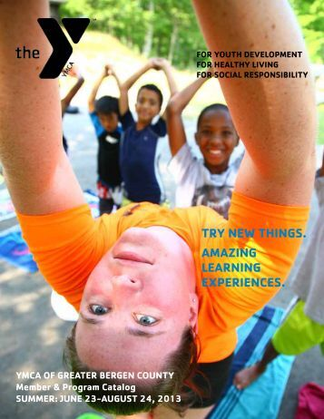 2013 Summer Membership & Program Brochure - YMCA OF THE ...