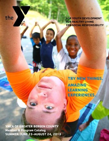 2013 Summer Membership & Program Brochure - YMCA OF THE ...