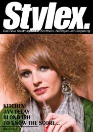KITCHEN JAN DELAY BLOND:ISH TO KNOW THE ... - Stylex Magazin