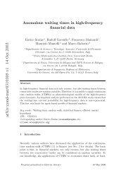 arXiv:cond-mat/0310305 v1 14 Oct 2003 - Gilles Daniel