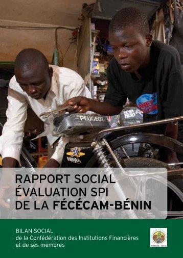 Rapport SPI FECECAM - Cerise