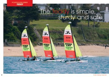 The Teddy is simple, sturdy and safe - Hobie Cat