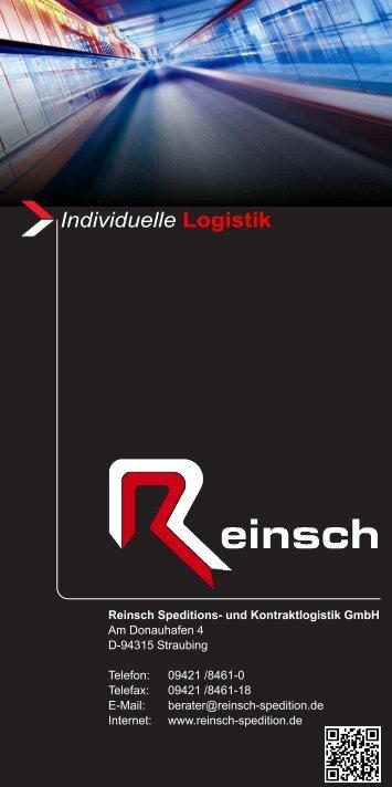 Individuelle Logistik - Reinsch Speditions