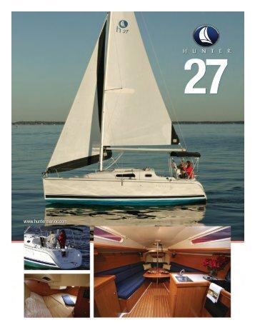 Hunter 27 - Port Sanilac Marina