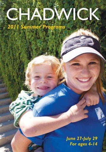 2011 Summer Programs - Chadwick School