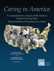 Caring in America: A Comprehensive Analysis of the Nation's ... - PHI